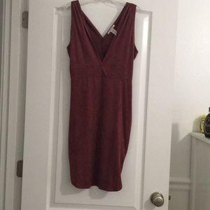 Tight velvet dress